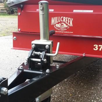 Model 27 & 37 Folding Dolly Wheel deployed position-1