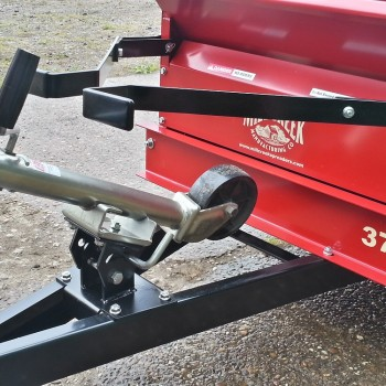 Model 27 & 37 Folding Dolly Wheel stowed position-1