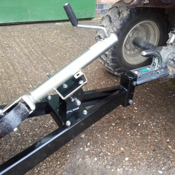 Model 27 & 37 Folding Dolly Wheel stowed position-2