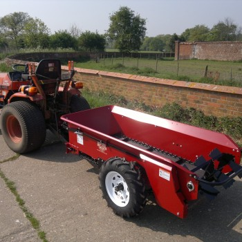 Model 27 with a 20hp Kubota compact tractor