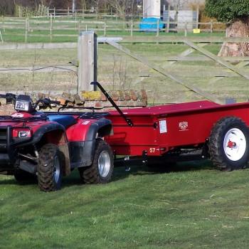 Model 57G with Honda TRX500 ATV