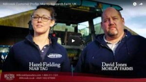 Millcreek Customer Profile - Morley Research Farm, UK